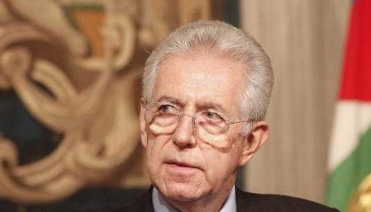 Mario Monti apre a in incarico-bis: «<em>Se ci dovessero essere circostanze speciali e mi verrà chiesto, prenderò la proposta in considerazione</em>»