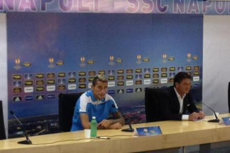 Walter Mazzarri e Valon Behrami hanno parlato alla vigilia dell'esordio in Europa League contro gli svedesi dell'Aik Solna