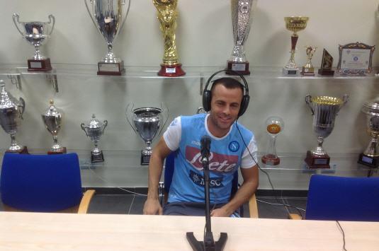 Giandomenico Mesto esprime tutto il suo entusiasmo per la nuova avventura in azzurro e raccontale sue emozioni di questi mesi napoletani