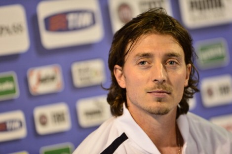 Riccardo Montolivo ha parlato in conferenza stampa a Coverciano