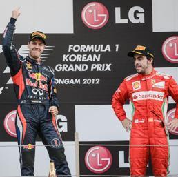Vettel e Alonso si giocheranno il campionato mondiale nelle ultime 4 gari. E per il pilota della Ferrari è davvero dura