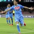 Il Napoli non riesce a battere l'Udinese. Callejon porta in vantaggio i suoi alla fine del primo tempo. Nella ripresa sciagurata rimessa di Reina permette il pari ai bianconeri.Ventisei aprile gli azzurri a Milano contro l'Inter